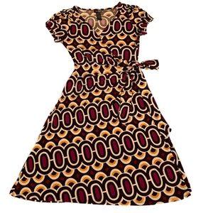 Wrap Around Dress s: 8 Has 2 tiny spots